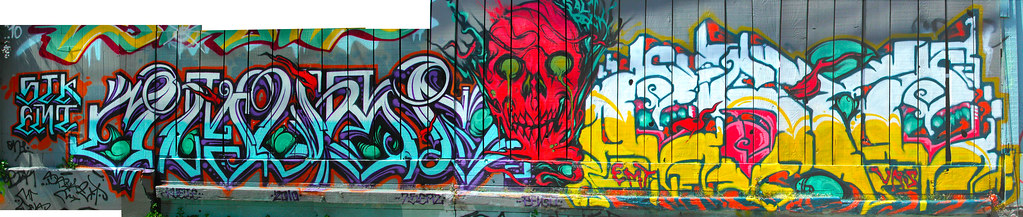 AMUSE, LANGO, ESTE, Street Art, Graffiti, San Francisco