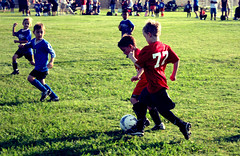 First Soccer Game : Shot 1