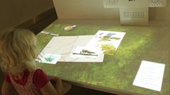 Operating the touch table