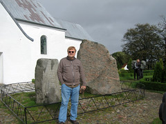 IMG_6225: Bill by Jelling Ruin Stones