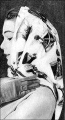 the 1950s-fashion accessories-scarf and gloves (april-mo) Tags: 1957 the50s the1950s fashionaccessories 1957fashion 1957parisfashion 1950sscarf 1957scarf