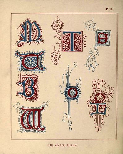 009 Siglos XIV y XV-A primer of the art of illumination for the use of beginners.. 1874-Freeman Delamotte