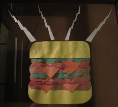 burger time party decoration