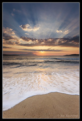 Morning Glory (Joe Rainbow) Tags: beach sunrise canon greece athos halkidiki sykia 5dmkii joerainbow