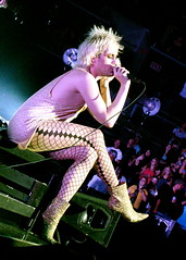 LADY GAGA (09/18/10) (minxual) Tags: costumes charlotte telephone livemusic fame paparazzi wigs gaga pokerface thefame biffles monsterball bornthisway ladygaga badromance timewarnerarena thefamemonster themonsterball