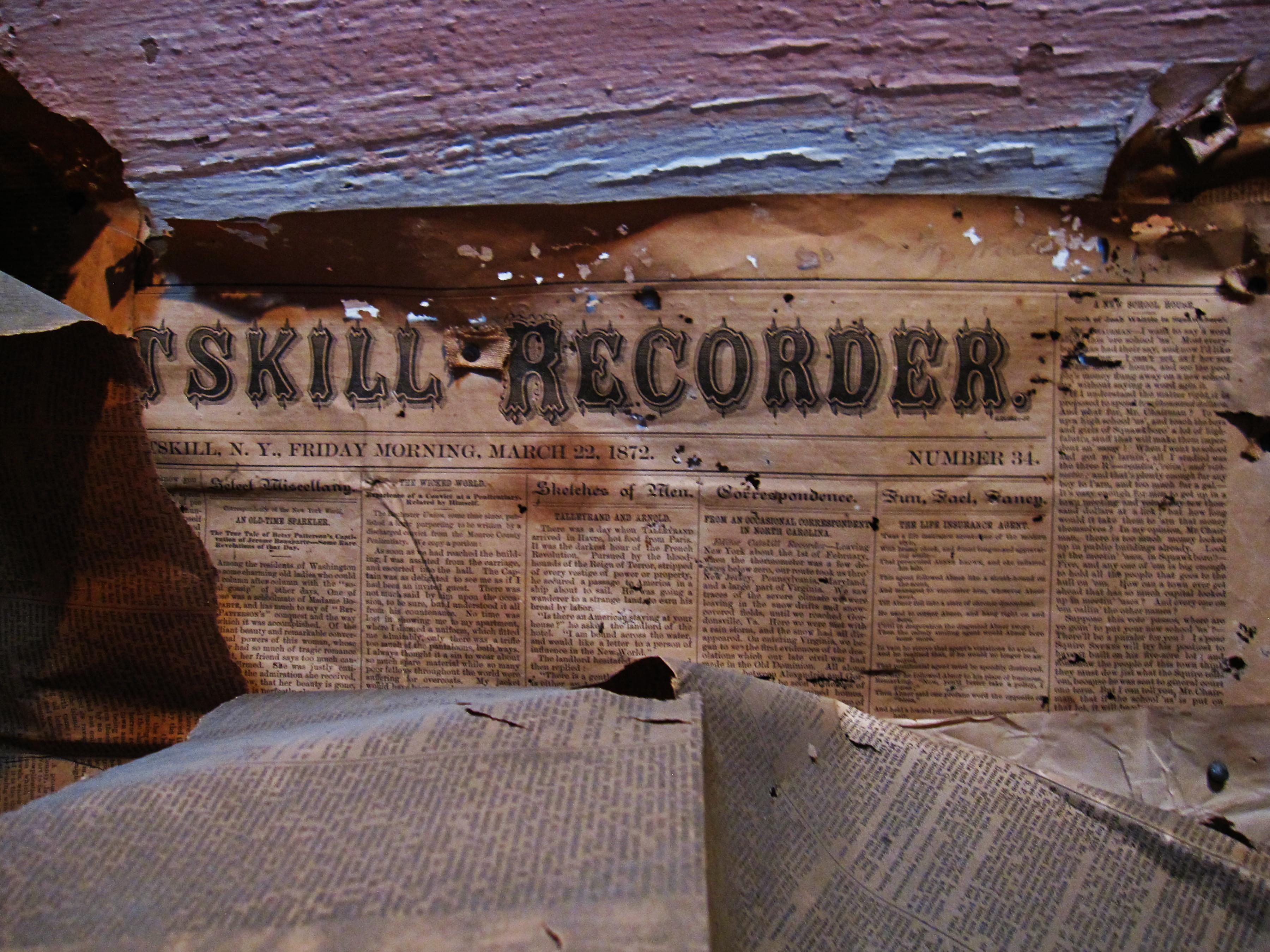 Catskill Recorder