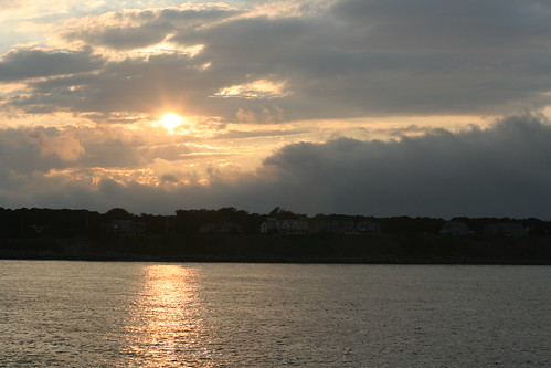 Sunset Over Martha's Vineyard