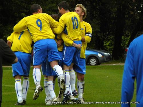 Cliffe FC 4 - 1 Stillington 18Sept10
