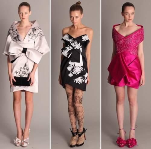 vestidos curtos 2011