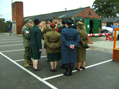 19th Sep 2010 010 (I Poper) Tags: camp hat museum female soldier army uniform display military wwii group navy parade hut 1940s ww2 afmc salor britisharmy armycamp edem reenactors raf powcamp womeninuniform edencamp prisonerofwarcamp navaloffiers 19thsep2010 italianpowcampwwii italianprisonerofwarcamp germanprisonerofwarcamp wwiiarmycamp