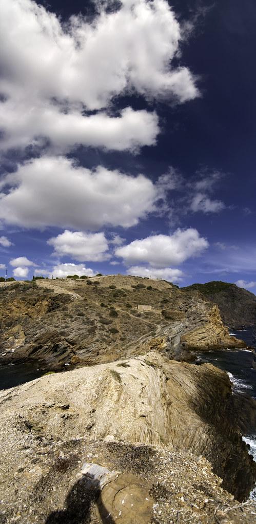 Bahía de Portman - Acantilado