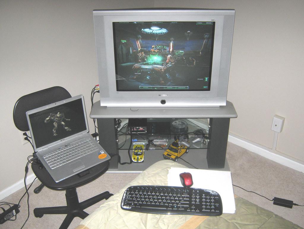 Makeshift Gaming Rig