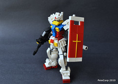 RX-78 Gundam (Pete Corp) Tags: anime japan lego gundam mecha mech   rx78 brickcon petecorp peteframe