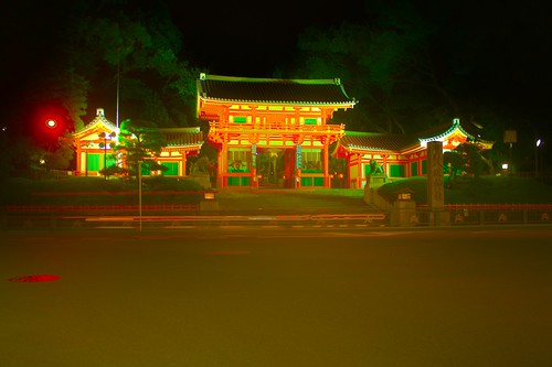 Yasaka shrine HDR 2 surreal