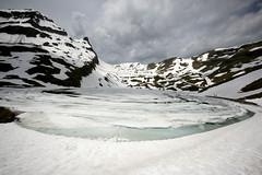spring @ first (ricascristo) Tags: winter lake snow mountains switzerland frozen spring suisse first suiça grinderwald