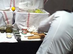 Tartinery - Preparing Tartines at Shecky's Toasts & Tastings