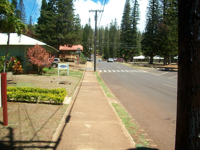 Downtown Lana'i City