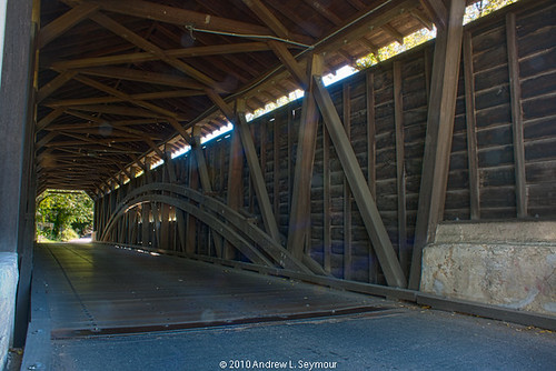 Kennedy Covered Bridge hdr 02 (Long Intervior View)