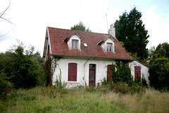 France, Pas-de-Calais, Trépied : architecture domestique