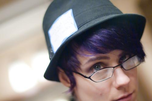 my hat.