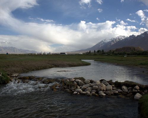 River in Tashkurgan Meadow