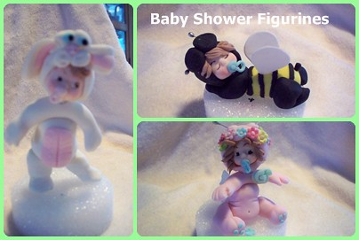Baby Shower figurines
