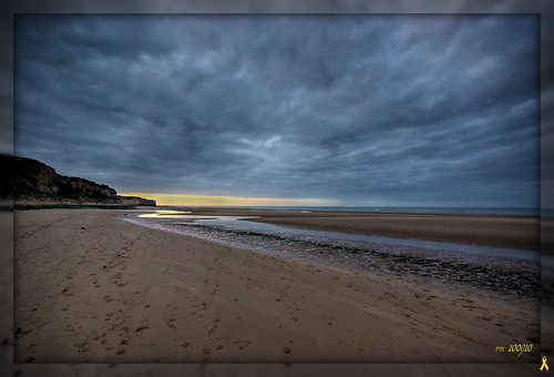 1692 Omaha Beach at night...