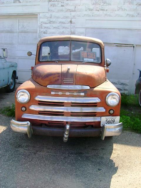 pickup northdakota dodge 1950 1949 velva dodgepickup