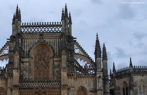 Pormenor da fachada gótica
