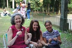 Só tem gente feliz no encontro do Rio!