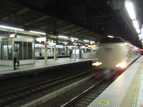 サンライズ出雲号入線 (1)