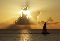 SUNSET1 (NEGRIL, JAMAICA) (Teeth Don't Grind) Tags: sunset sailboat jamaica negril