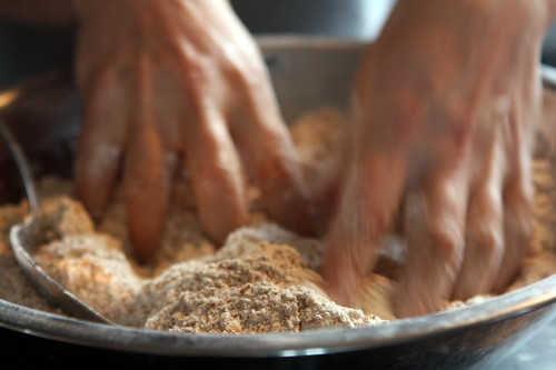 mixing irish soda bread1