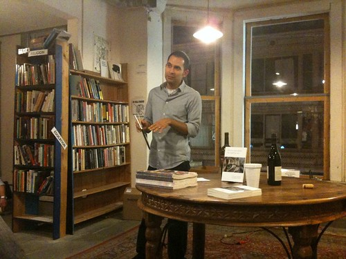 Paul Martinez Pompa reading