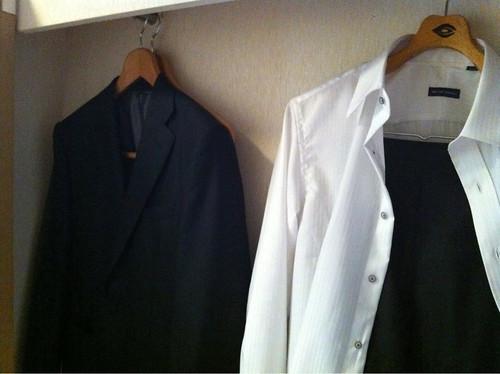 スーツカンパニー ネイビースーツ