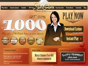 Slots Galore Casino Home