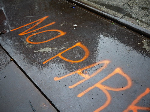 no parking in the rain #walkingtoworktoday