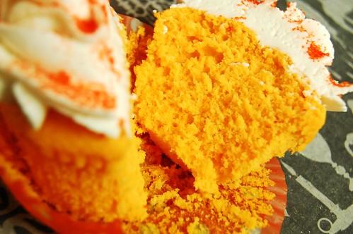 inside of cupcake