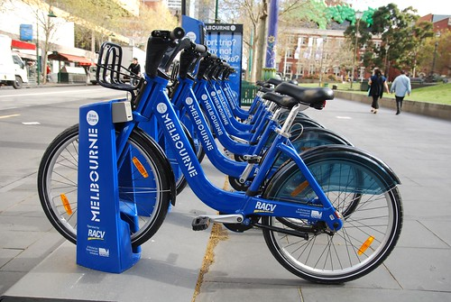 Melbourne Bike Share - State Library of Victoria