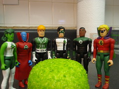 green lanterns and globalls