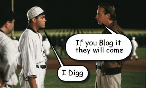 If you blog it they will come