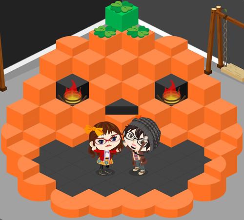 Fall - pumpkin room