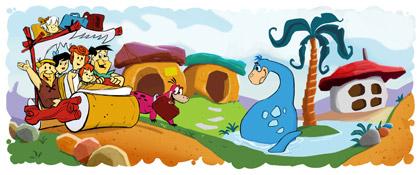 The Flintstones Doodle