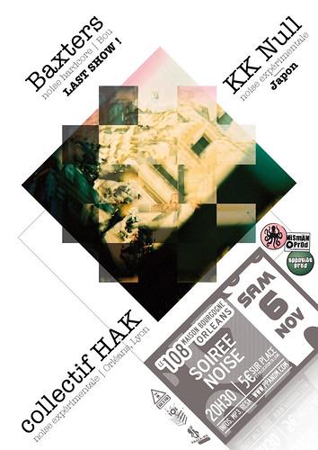 KK Null + Baxters + collectif HAK