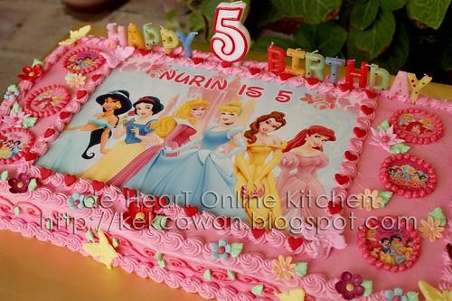 """Cake Princess 18""""x9"""""""