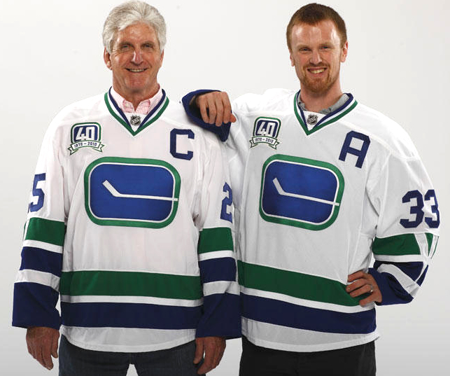 The Canucks are celebrating their 40th anniversary with a throwback alternate  jersey ...