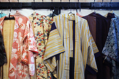 antique kimonos