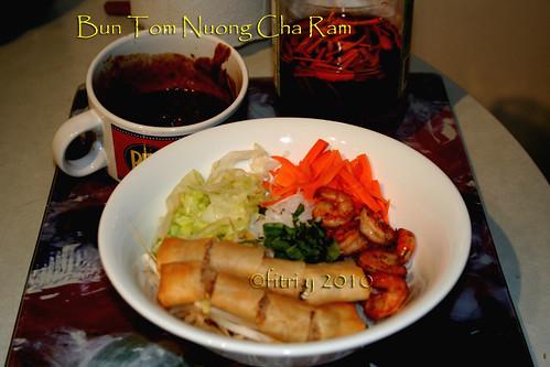 Bun Tom Nuong Cha Ram by Fitri