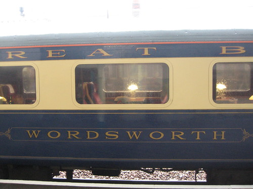 First Class charter train with Pullman dining