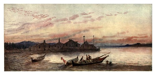 014-Pueblo Siwash en la costa del Pacifico-Canada-1907- Thomas Martin Mower